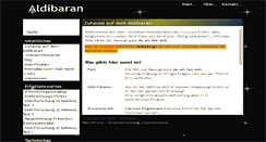 Preview of aldibaran.de