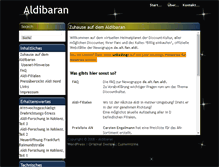 Tablet Preview of aldibaran.de